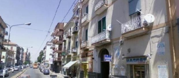 Un via di Secondigliano ( Napoli )
