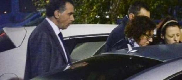 Veronica Panarello subito dopo la morte del figlio
