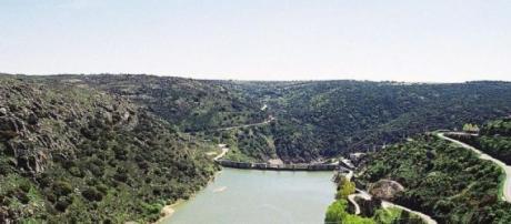 Paisagem de Miranda do Douro.