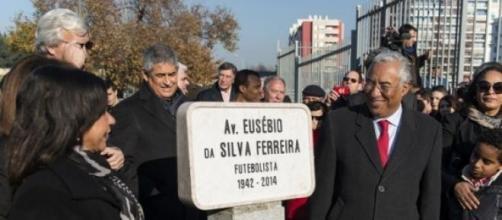 Inaugurada hoje a Avenida Eusébio, em Lisboa