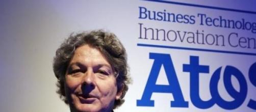 Thierry Breton PDG d'Atos espère 10% sur son titre