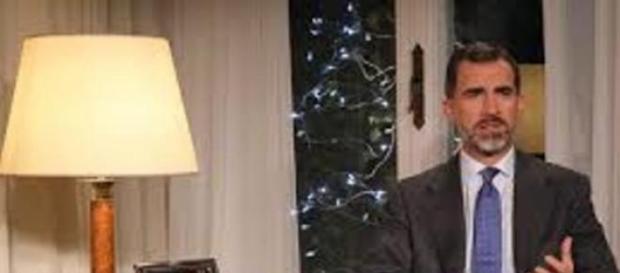 Felipe VI en su primer discurso navideño