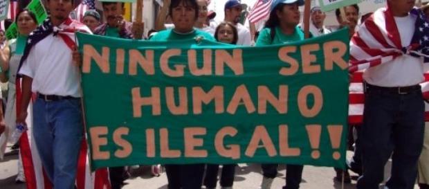 Ningún inmigrante es ilegal
