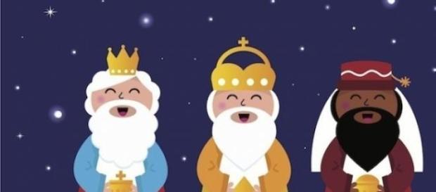 Una ilustración de los Reyes Magos