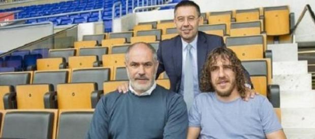 Zubizarreta y Carles Puyol abandonan el Barça.
