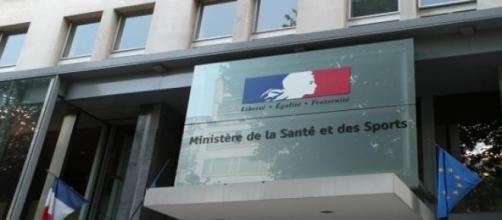 El Ministerio de Sanidad francés en París