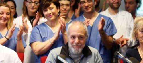 Il dottor Pulvirenti dimesso dallo Spallanzani