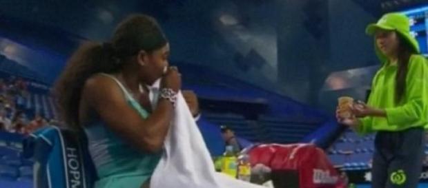 Café milagroso virou jogo para Serena