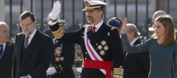 El rey Felipe VI en su primera Pascua Militar