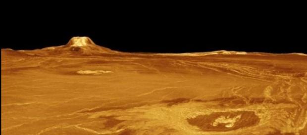 La superficie del planeta Venus