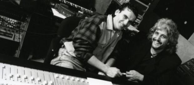 Massimo Troisi e Pino Daniele