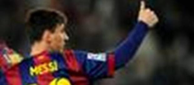 Messi, a maior estrela do Barcelona