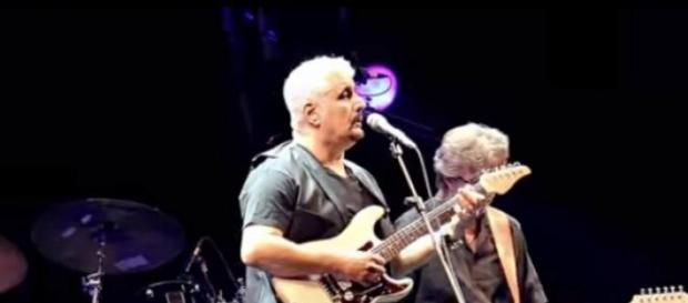 Pino Daniele con Eric Clapton