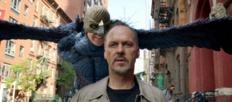 Michael Keaton em Birdman.