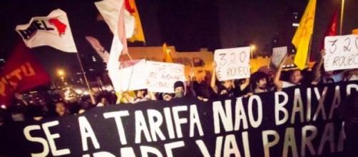 Movimento Passe Livre marca protesto em São Paulo
