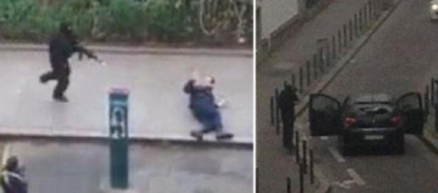 Dos encapuchados de negro dispararon sin dilación