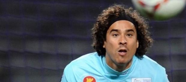 Guillermo Ochoa jugó en la Copa del Rey