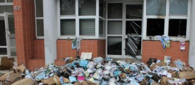 Imagen de un atentado anterior en la revista