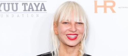 Cantante australiana Sia, durante un photocall.