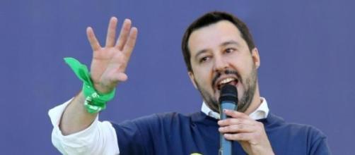 L'attuale segretario di Lega Nord Matteo Salvini