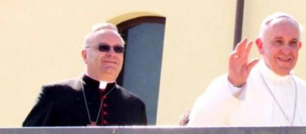 Cardinale Francesco Montenegro e Papa Francesco