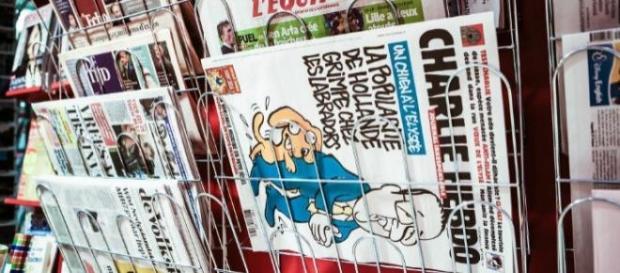 L'avant-dernier numéro du Charlie Hebdo.