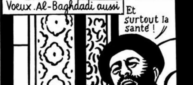Last satirical cartoon mocking Bakar Al Baghdadi