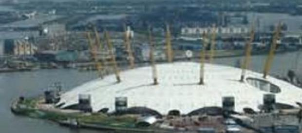 The O2 Arena hosts the National Television Awards