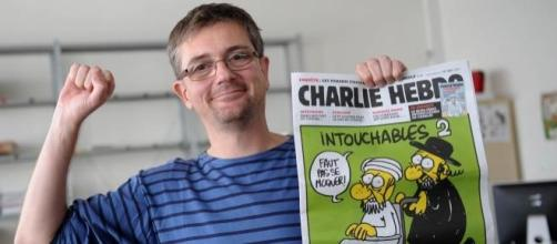 Charb, diretor do Charlie Hebdo