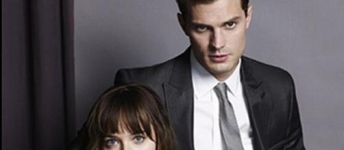 Christian y Anastasia en el cine