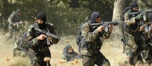 Les forces de armée Tunisienne