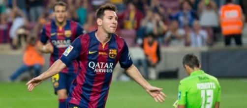 Lionel Messi v Granada 2014