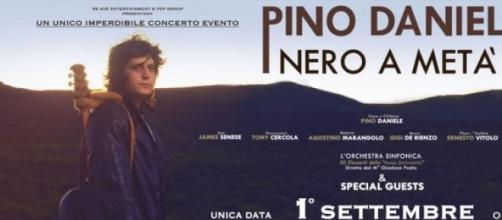 Locandina Concerto Pino Daniele Nero a Metà - 2014