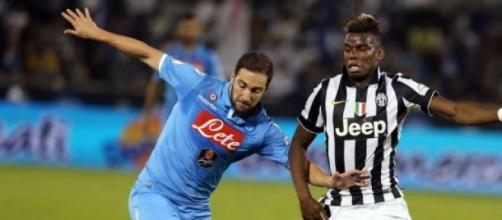 Napoli - Juventus, Higuain e Pogba