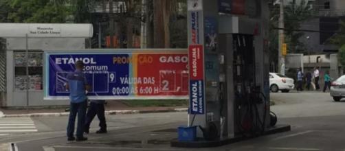 Aumento da gasolina já está valendo