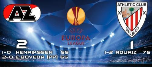 AZ Alkmaar 2-1 Athletic Bilbao