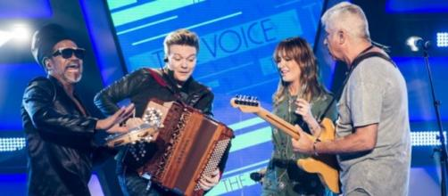 Jurados no Novo The Voice Brasil