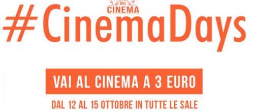 Logo ufficiale dei #CinemaDays