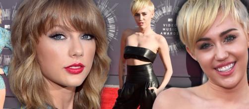 Miley quer ver Taylor Swift com cabelo curto.