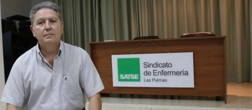 Secretario de SATSE en Canarias.