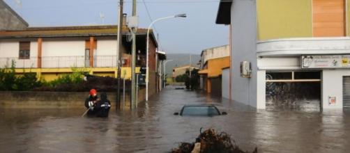 Un forte ciclone sta colpendo la Sardegna