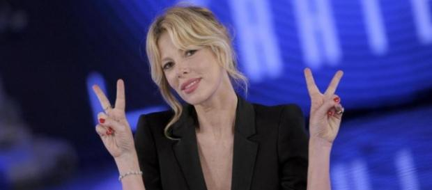 Alessia Marcuzzi, la conduttrice del GF