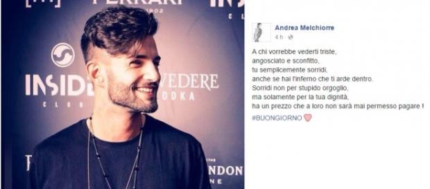 Gossip Uomini e Donne, Andrea Valentina e Gianluca