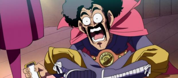 Mr Satan en el capitulo 12 de Dragon Ball SUper