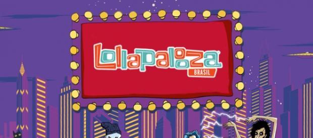 Publicidade - Lollapalooza Brasil