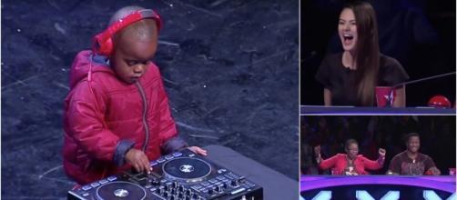 Arch Jnr é um DJ com apenas 3 anos.