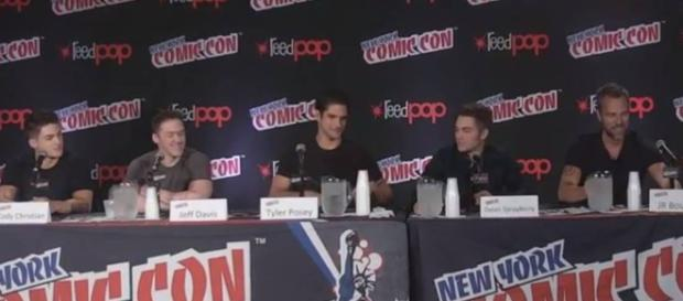 Il cast di Teen Wolf al New York Comic-Con