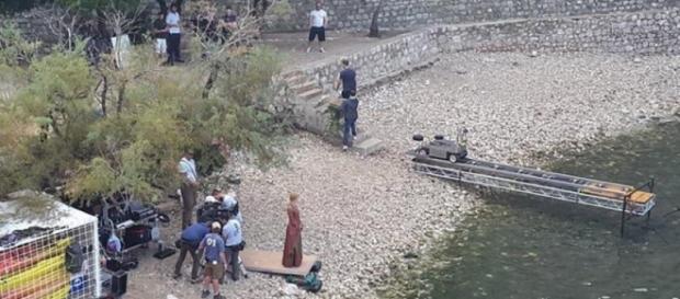 Le immagini dal set di Game of Thrones 6