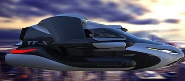 O carro voador poderá sair em 2021/ Divulgação