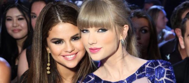 Selena Gomez e Taylor Swift são grandes amigas.